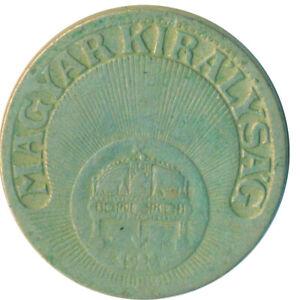 KINGDOM OF HUNGARY, 10 FILLER , 1928     #WT6552