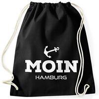 Turnbeutel Moin Hamburg Anker Moonworks®
