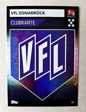 Match Attax Action 19 20, #553 Wappen/Logo/Clubkarte VfL Osnabrück!