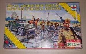 1/72 20mm Esci WWII Soviet Russian Scout Car wargame models