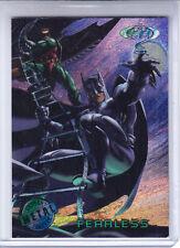 1995 Fleer Metal Batman Forever Card # 92 Fearless