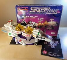 CAPSELA SPACELINK PATROL CRAFT CONSTRUCTION TOY PLAYSET 99% COMPLETE
