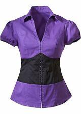 BODYFLIRT - Damen feminine Bluse mit andersfabigen Einsatz Größe 34 NEU