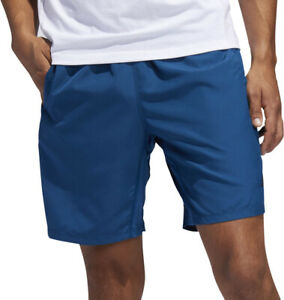adidas 4KRFT Sport Woven 8 Inch Mens Training Shorts Blue Gym Run Workout Short