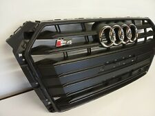 Audi S4 B9 2016 Onwards 8W0853651M Black Gloss Front Grill Brand New Genuine