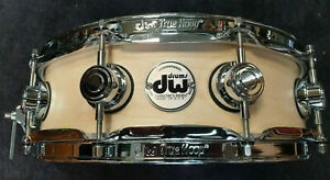 "DW Snare Drum 14x4"" Maple Collectors USA Satin Oil Natural / Rullante"