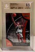 2007-08 Topps Finest Rookie Kevin Durant RC BGS 9.5 True Gem Mint Nets, Sonics