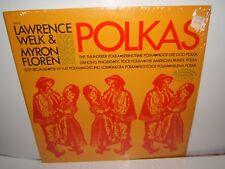 POLKAS  BY LAWRENCE WELK & MYRON FLOREN. R 8014. LP