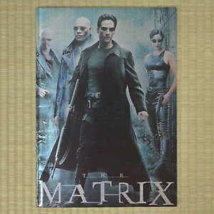 The Matrix Japan Movie Program 1999 Keanu Reeves Lana Wachowski Carrie-Anne Moss