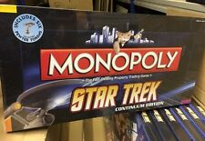 MINT SEALED BOXED STAR TREK MONOPOLY CONTINUUM EDITION CLASSIC TV SERIES Kirk