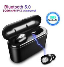 New listing Bluetooth 5.0 Earbuds 5D Stereo Headphone Wireless Headset Noise Cancelling Ipx7