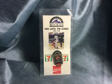 Sealed Colorado Rockies 1993 Lapel Hat Vest Pin #10, Complete & Functional.