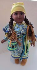"""American Girl Doll as Columbia River """"Young Root Gatherer"""" Native made,Authentic"""