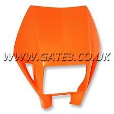 GENUINE KTM 520EXC EXC 520 2000-2002 Orange Plastic Headlight Lamp Mask Surround