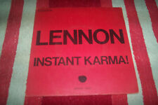 DISQUE 45 TOURS JOHN LENNON apple pathe 1003 original instant karma + 1