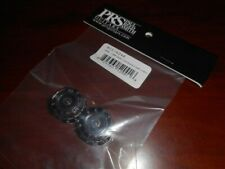 NEW Paul Reed Smith Lampshade Guitar Knobs For USA PRS, CLEAR/BLACK, ACC-4246