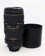 Nikon Zoom NIKKOR 80-400mm 14.5-5.6 VR D AF A/M ED Lens DSLR Digital SLR Film