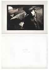 PHOTO SARAH MOON Campagne Publicitaire Cacharel ? Mode Femme Chapeau 1980
