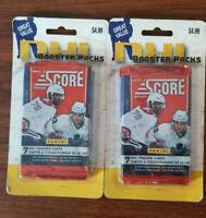 2010-11 Score NHL hockey (2 - 3pk factory sealed blister packs) Total 42 cards!