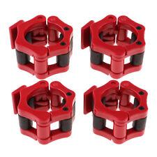 Aus ABS 2 Pcs Hantelverschlüsse 25 mm Gewichtsstangen Verschlusssatz