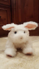 2011 Hasbro Fur Real FurReal Friends Animated Toy White Bunny Rabbit Not Working
