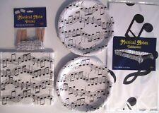 Note Musicali a Nastro Festa di Compleanno Supply Set Confezione Kit con /