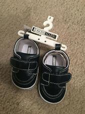 Joseph Allen Navy Blue Infant Boys Siz3 3 Shoes - Nwt