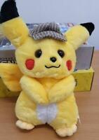 Pokemon Detective Pikachu 26cm Plush Doll Stuffed Toy Movie
