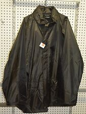 Black rainsuit size XXL pants & jacket (refbte#64)