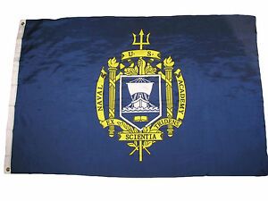 3x5 US Naval Academy Premium Quality Fade Resistant Flag 3'x5' Banner Grommets