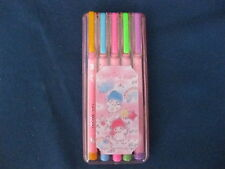 VINTAGE Marker Set 1976 SANRIO Hello Kitty My Melody LITTLE TWIN STARS Japan #CT