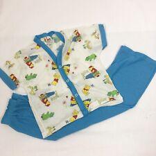 Winnie the Pooh Pajama Set PJ Sleepwear Size 6x Vintage Sears