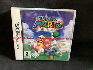 Nintendo DS - Super Mario 64 DS - Neu Sealed - Red Stripe - First Print