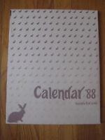 1988 Barbara Ford Doyle CALENDAR PRINT BOOK Chatham MA Cape Cod drawing art vtg