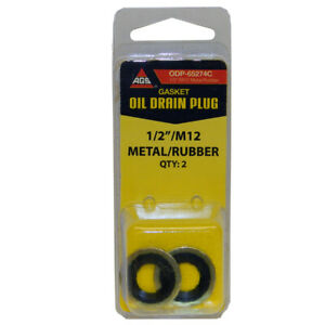 Engine Oil Drain Plug Gasket-Card AGS ODP-65274C