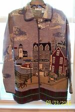 Women's Decorative Jacket By Blair - NWT - Size Large