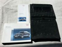 AUDI A4 B6 SEDAN OEM OWNERS MANUAL INSTRUCTION BOOK 2005