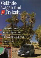 Mercedes G-modelo G-clase todoterreno ocio revista folleto 2001 49