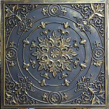 PL18 faux finish ancient gold ceiling tiles Decorative 3D wall panels 10tile/lot