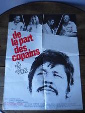AFFICHE CINEMA (60x80) DE LA PART DES COPAINS Terence Young (G15)
