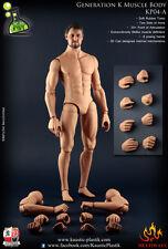 1/6 KP Kaustic Plastik KP04A Generation K Muscle Male Body Action Figure