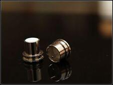 Noise Stopper Rhodium Plated Copper XLR Plug Caps 1 Pair