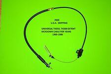 Universal Throttle Valve Detent KickDown Cable TH-350 1969-1980