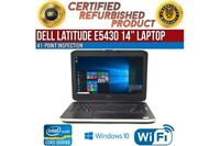 "Dell Latitude E5430 14"" Intel i5 4 GB RAM 500 GB HDD Win 10 WiFi B Grade Laptop"