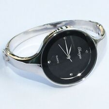 Gorgeous Black Lady Girl Bracelet Watch