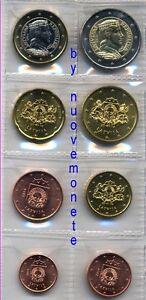 LETTONIA LATVIA  I PRIMI EURO 2014 - 8 monete UNC SCEGLI QUELLE CHE INTERESSANO