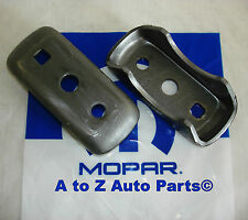NEW Mopar Performance 3 inch Axle Tube Universal Spring Perch Brackets, Set of 2