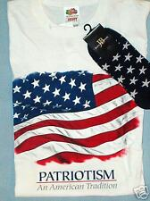 LOT  PATRIOTISM SHIRT AND SOCKS NWT STORE SALE