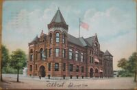 1908 Postcard: The City Hall-Fort Wayne, Indiana Ind IN