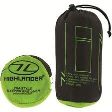Highlander YHA Envelope Sleeping Bag Liner - White
